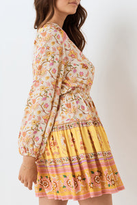 Portobello Road Long Sleeve Playdress - Honey Dew