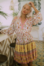 Load image into Gallery viewer, Portobello Road Long Sleeve Playdress - Honey Dew