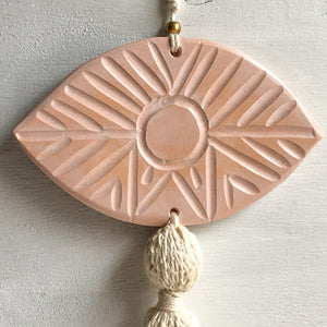 Ceramic Eye Wall Hanging