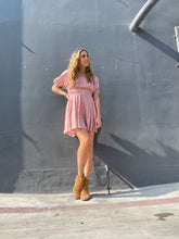 Load image into Gallery viewer, Rae Mini Dress - Dusty Pink