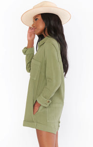 Tegan Jumper - Army Green