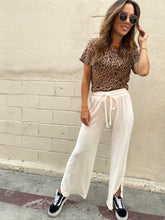 Load image into Gallery viewer, Burnout Boxy Crew - Leopard Burnout
