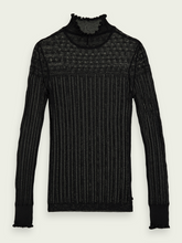 Load image into Gallery viewer, Sheer Long Sleeve Layering Knit