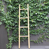 Ladder, bamboo, natural, 170cm
