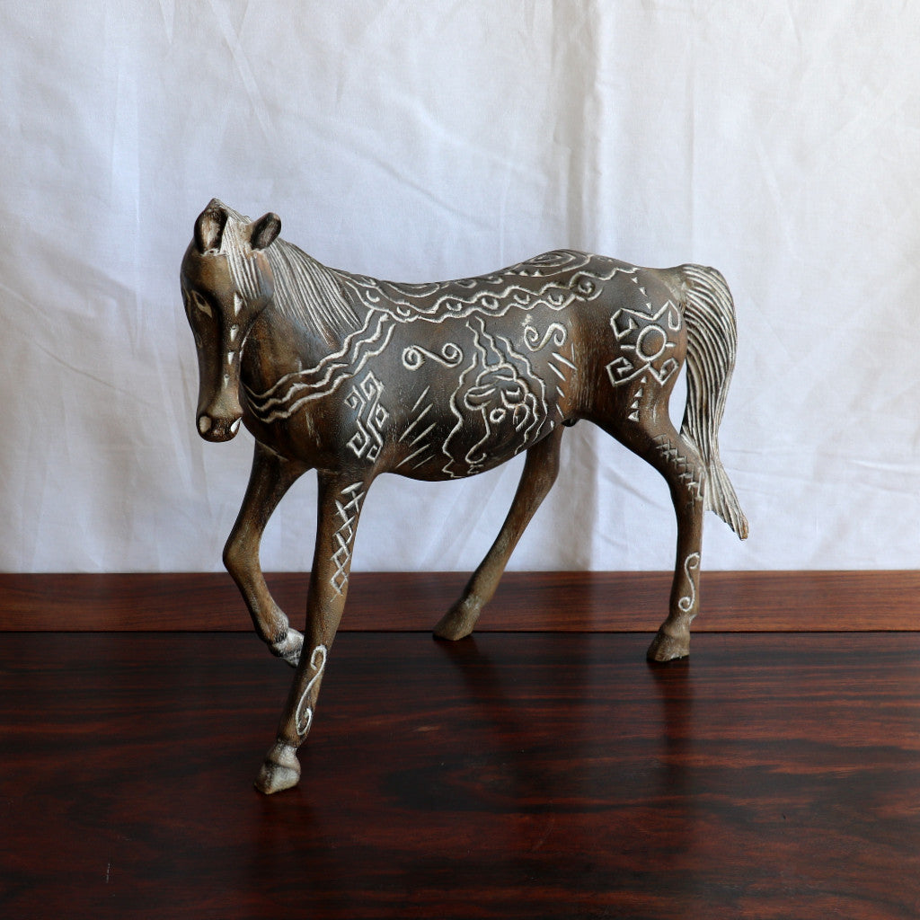 Horse, timber, tribal, No 1