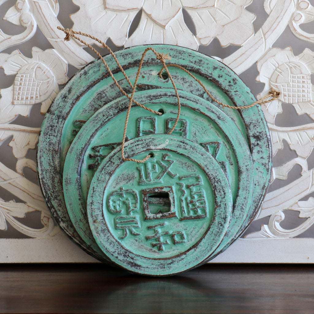 Coins, Chinese, terra cotta, No. 2