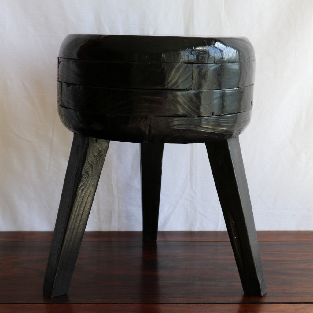 Stool, side table, teak