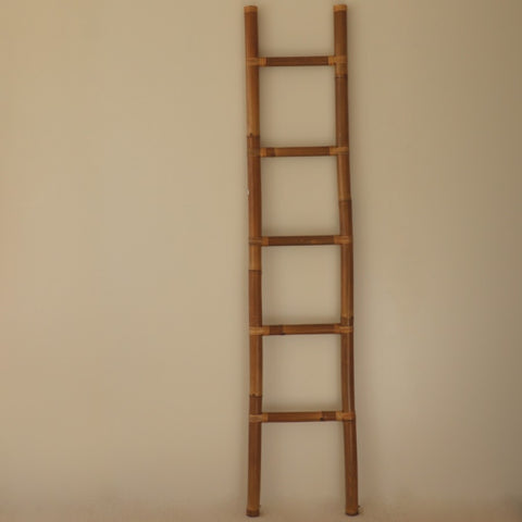 Ladder, bamboo, brown, 200cm