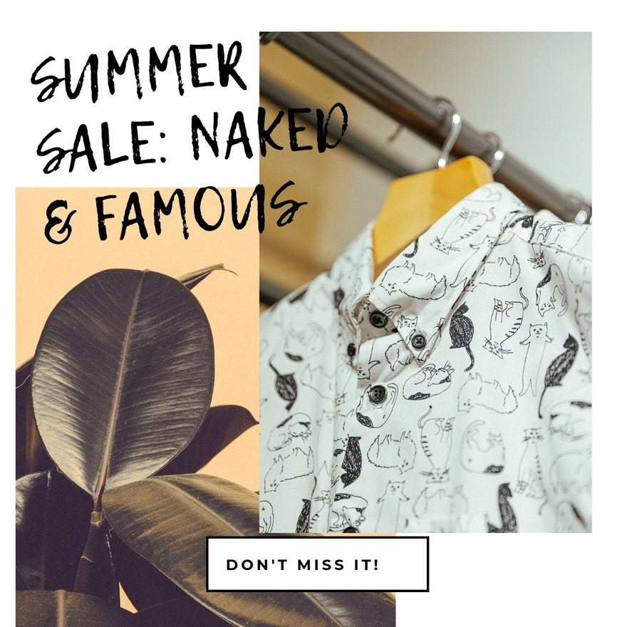Button Downs: Summer Sale Naked and Famous Edition