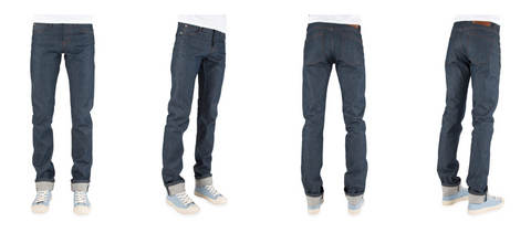 Naked and Famous Denim Raw Denim Skinny Guy Fit Canadian