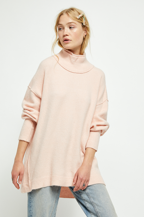 Afterglow Mock Neck Sweater-Sweaters & Knits-Free People-Coda & Cade