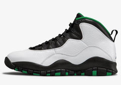 "Air Jordan 10 Retro ""Seattle""-Athletic Sneakers-Jordan-[produt_sku]-Coda & Cade"
