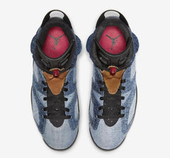 Air Jordan 6 Retro 'Washed Denim'-Athletic Sneakers-Jordan-[produt_sku]-Coda & Cade