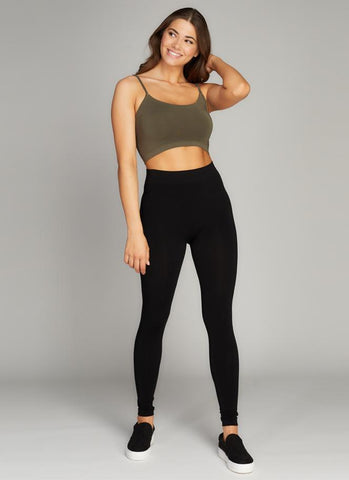 Bamboo Fleece Lined Legging
