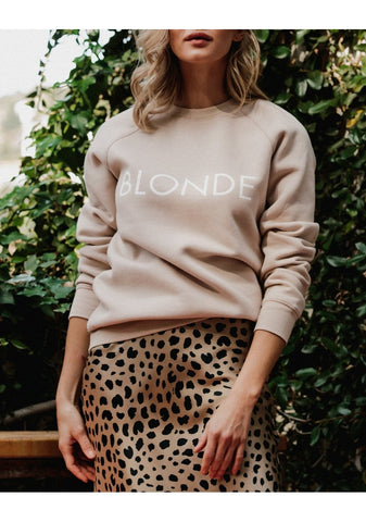 Blonde Sweatshirt