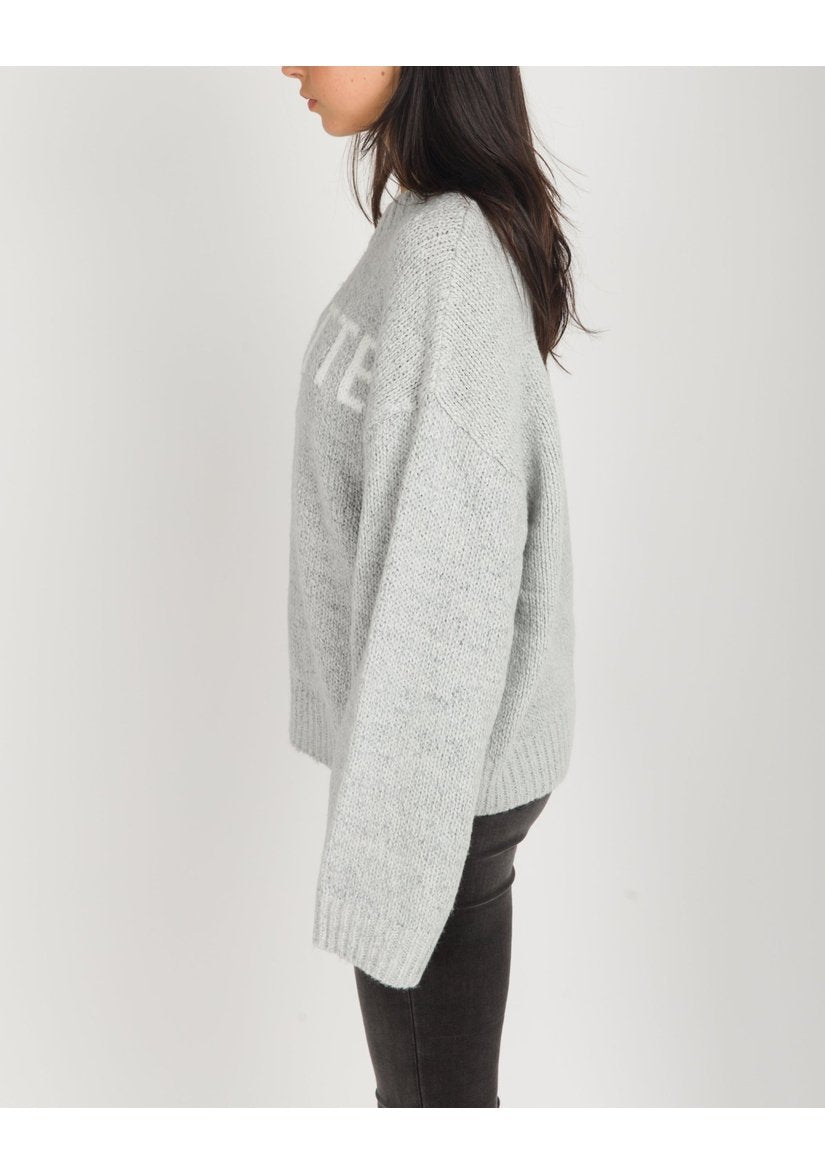 Brunette Yes Girl Sweater-Sweaters & Knits-Brunette-[Regina]-[Saskatchewan]-[Blonde]-Coda & Cade