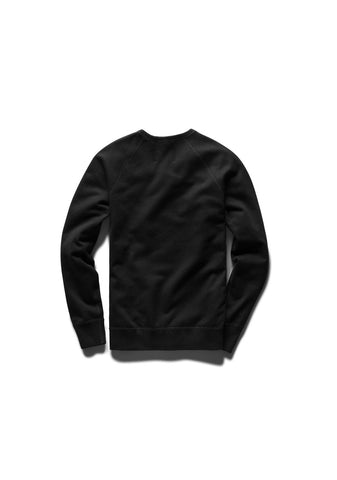 Club Logo Embroidered Midweight Crewneck