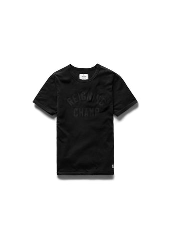 Club Logo Embroidered Ringspun Tee