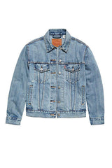 Ex-Boyfriend Trucker-Jackets & Coats-Levi's Women-Regina-denim-clothing-Coda & Cade