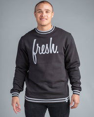 Fresh-Fleece Athlete Crewneck-Crewneck Sweatshirts-22 Fresh-[Regina]-[Saskatchewan]-[Made in Canada]-Coda & Cade