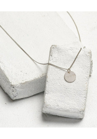 Inspire Disc Pendant Necklace