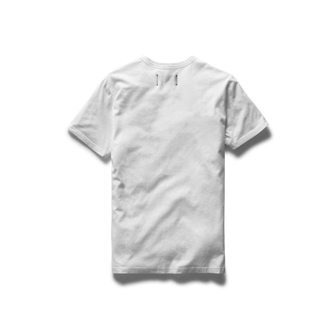 Knit Cotton Jersey Gym Logo Tee