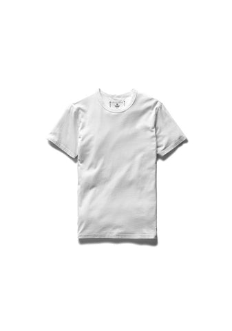 Knit Cotton Jersey S/S Crew Neck