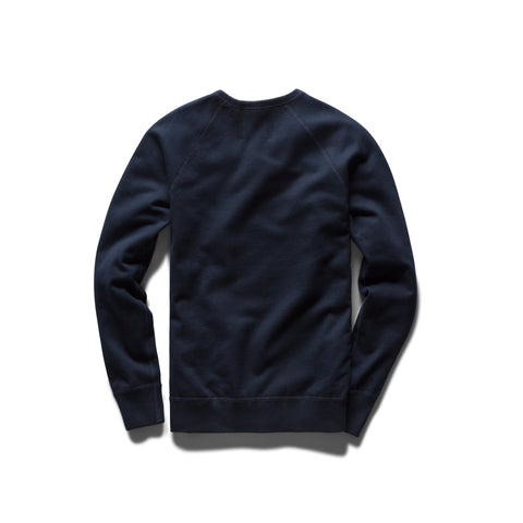 Knit Mid Weight Terry Gym Logo Crew Neck