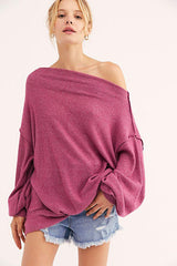 Main Squeeze Hacci-L/S Top-Free People-Coda & Cade