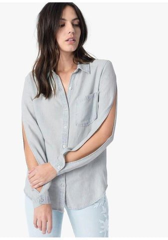 Meg Denim Shirt-Blouses & Shirts-Joe
