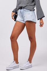Mid Rise Trucker Relaxed Short-Shorts & Skirts-One Teaspoon-Coda & Cade