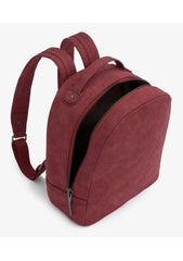 Olly Suede Backpack-Backpacks-Matt And Nat-bags-Saskatchewan-vegan leather-Coda & Cade
