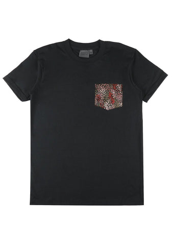 Pocket Tee - Allover Flowers