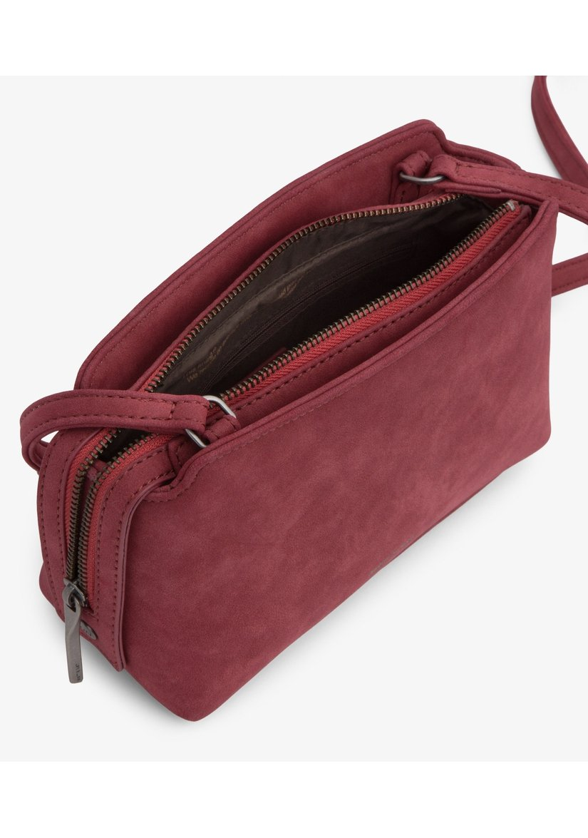 Raven Suede Crossbody-Crossbody Bags-Matt And Nat-bags-Saskatchewan-vegan leather-Coda & Cade