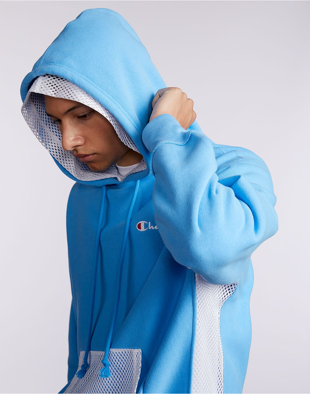 Reverse Weave Shift Pullover Hoodie-Hooded Sweatshirts-Champion-Coda & Cade