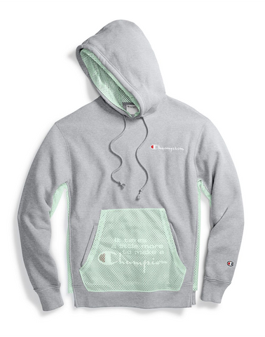 Reverse Weave Shift Pullover Hoodie
