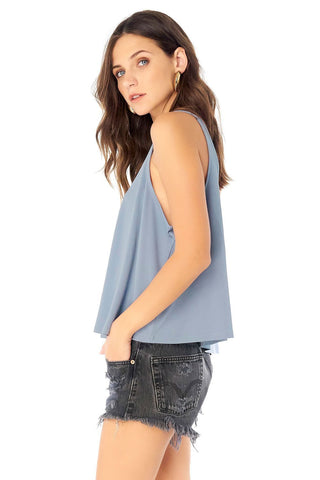 Scoop Neck A-Line Tank