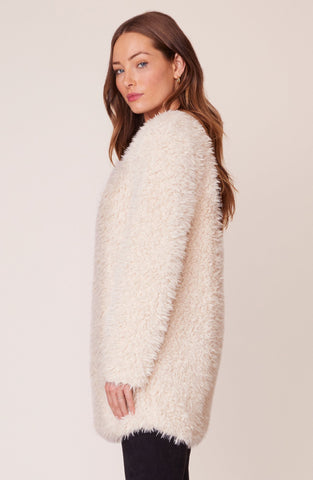 Soft Spot Faux Fur Jacket