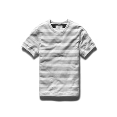 Striped Terry S/S Reversible Crewneck-Tees-Reigning Champ-Coda & Cade