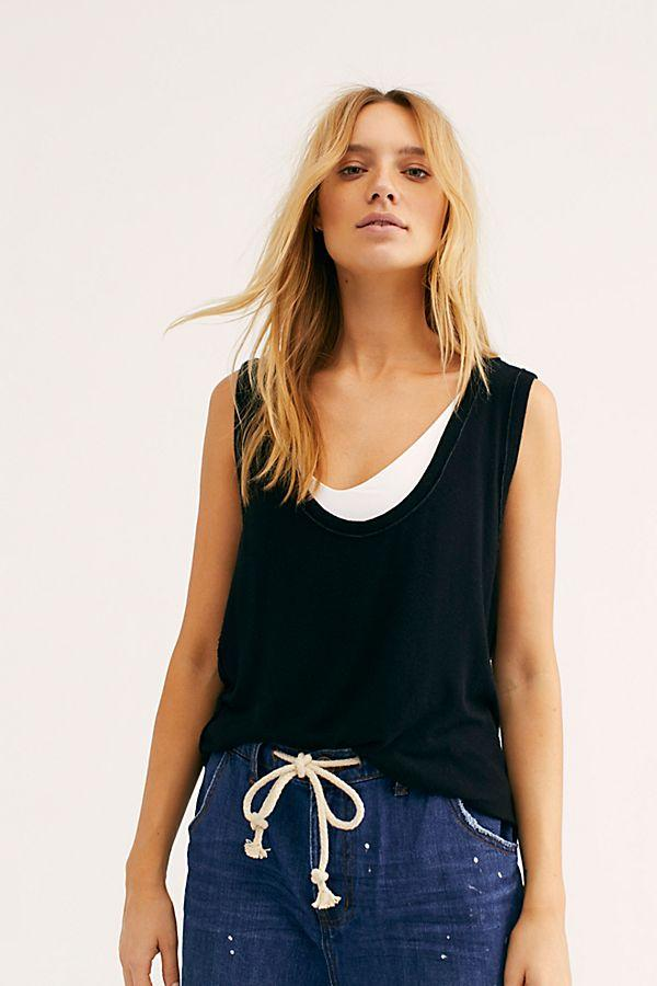 Take The Plunge Tank-Tank Tops-Free People-Coda & Cade