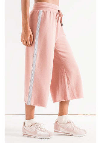 The Feathered Fleece Culottes
