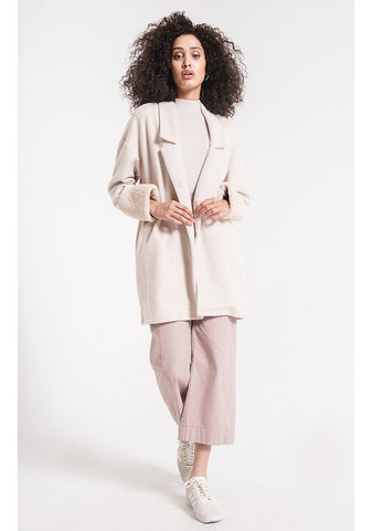 The Maxi Sherpa Cardigan