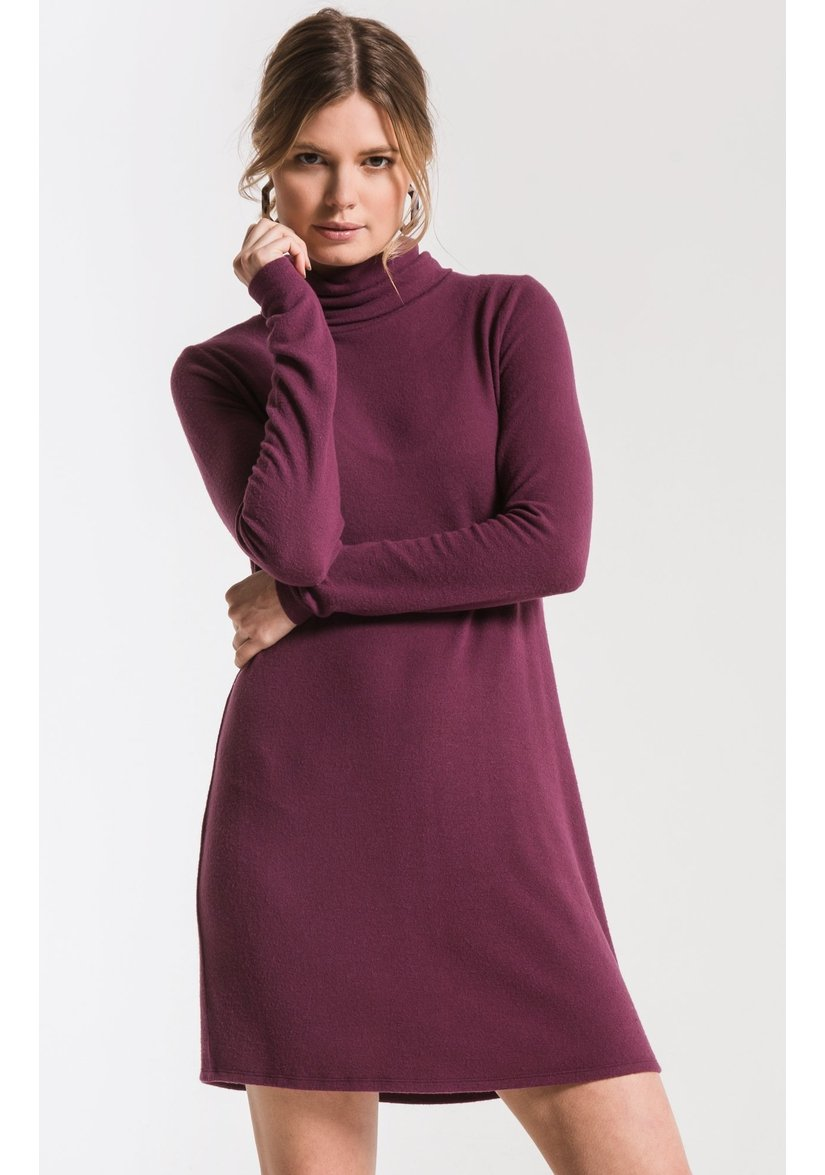 The Sweater Knit Turtleneck Dress-Sweaters & Knits-Z Supply-Coda & Cade