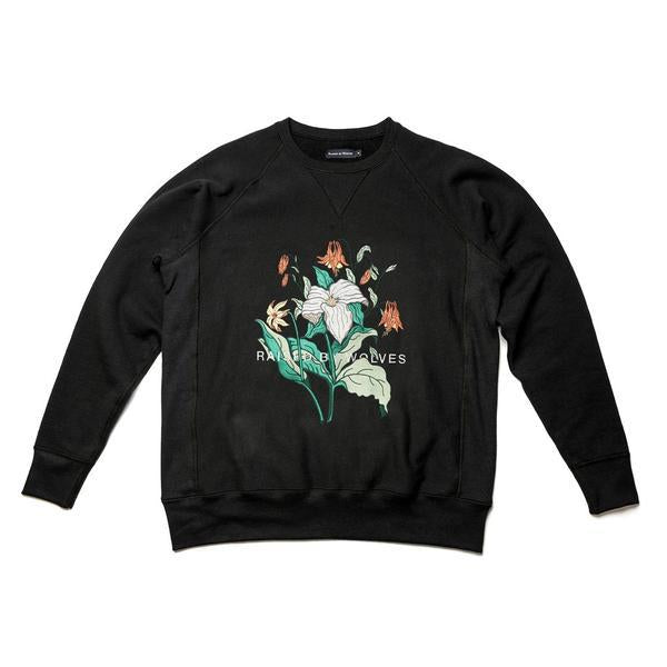 Trillium Crewneck Sweatshirt-Crewneck Sweatshirts-Raised By Wolves-Coda & Cade