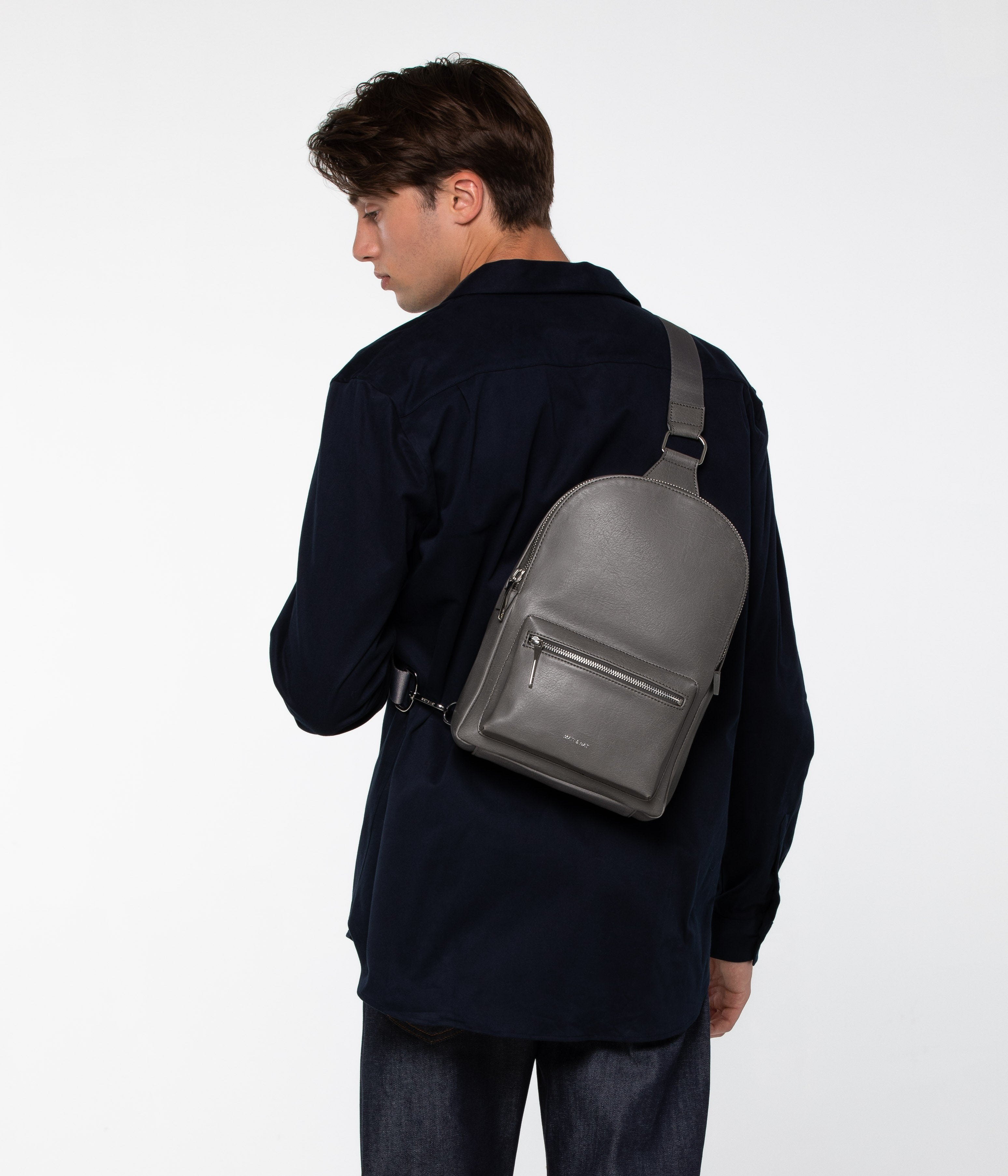Voas Vintage Backpack-Backpacks-Matt And Nat-bags-Saskatchewan-vegan leather-Coda & Cade