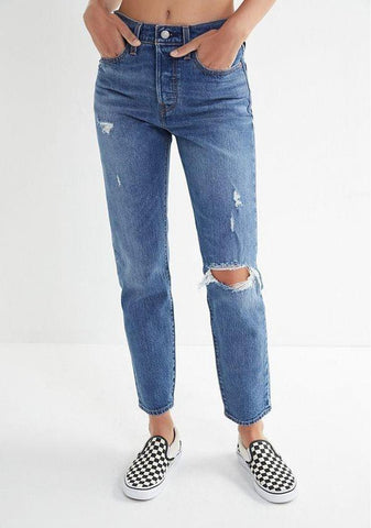 Wedgie Icon Fit-Boyfriend Jeans-Levi