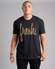 Women's Fresh Leopard Tee-Crewneck Tees-22 Fresh Women-Coda & Cade