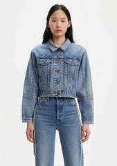 Women's Future Vintage Trucker-Jackets & Coats-Levi's Women-Regina-denim-clothing-Coda & Cade