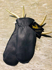 Wool Lined Leather Mittens-Winter Accessories-Larson's Leather-Coda & Cade