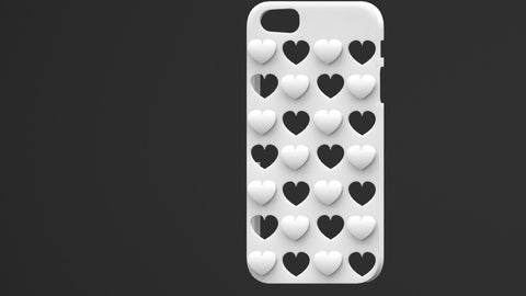 Iphone 5 / 5s | 3D Printed Mobile Cover (12)